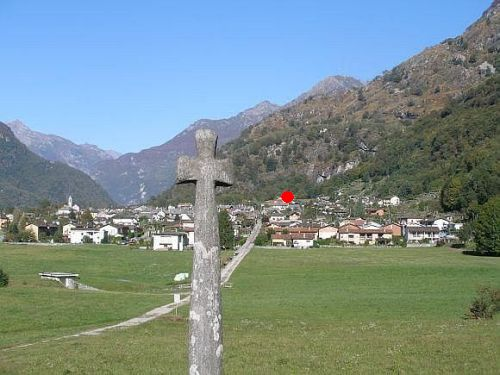 We are here! (Accommodation in Ticino, Accommodation Locarno, Tessin, holiday apartment Ticino, holiday flat)