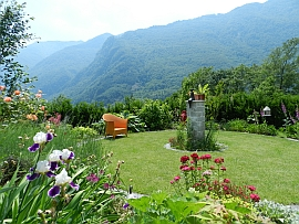 Self-catering holiday apartment, Maggia Valley near Locarno / Ascona